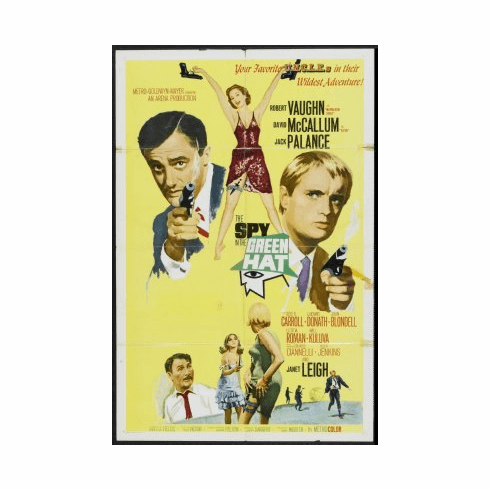 Spy In The Green Hat Movie Poster 24x36 #01