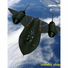 Sr71 Blackbird In Flight 8x10 photo Master Print