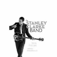 "Stanley Clarke Band The Black and White Poster 24""x36"""
