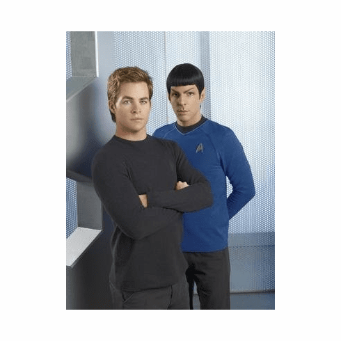 Star Trek Chris Pine Zachary Quinto Movie Poster 11x17 Mini Poster