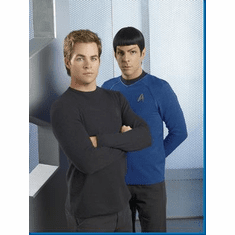 Star Trek Chris Pine Zachary Quinto Movie Poster 24inx36in