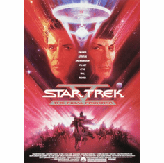 Star Trek Final Frontier Movie Poster 24inx36in