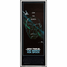 Star Trek Iii Search For Spock Movie Poster Insert 14x36 #01