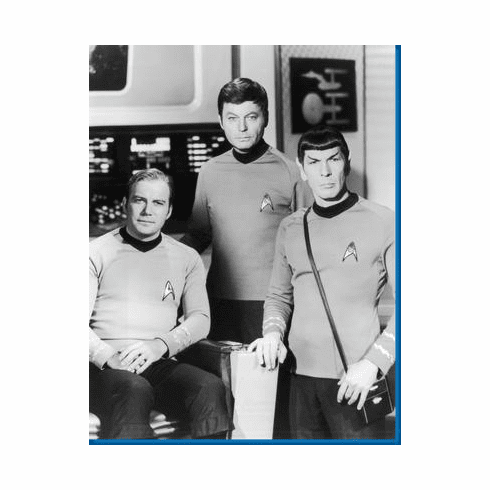 Star Trek Kirk Spock Mccoy Poster 24inx36in