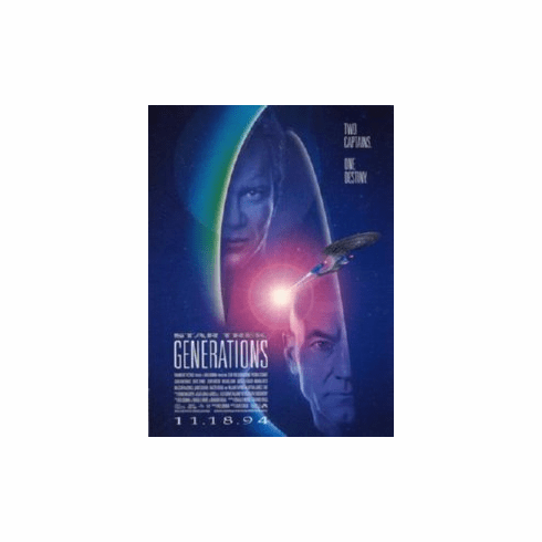 Star Trek Movie Generations Art Only No Text 8x10 photo Master Print