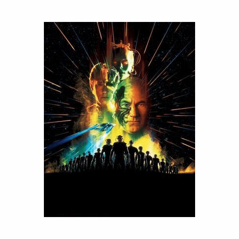 Star Trek Movie Poster First Contact 24in x36 in