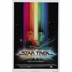 Star Trek Movie Poster The Motion Picture 24in x36 in