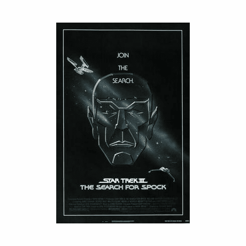 Star Trek Movie Poster The Search For Spock 24in x36 in