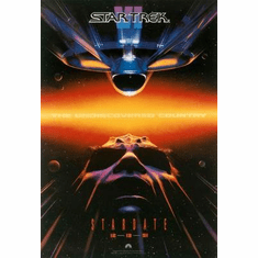 Star Trek Movie Poster The Undiscovered Country 24in x36 in