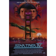 Star Trek Movie Poster The Voyage Home 24in x36 in