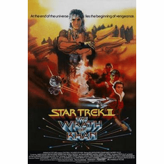Star Trek Movie Poster The Wrath Of Khan 24in x36 in