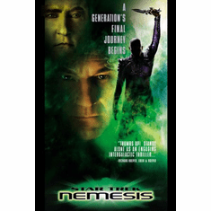 Star Trek Nemesis Movie Poster 24inx36in