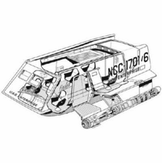 "Star Trek Shuttle Haynes Manual Black and White Poster 24""x36"""