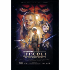 Star Wars Ep I Movie Poster 24inx36in