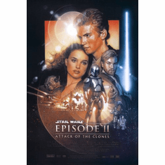 Star Wars Ep Ii Movie Poster 24inx36in