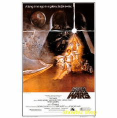 Star Wars Movie Poster A Commericial Repro. Poster 24inx36in