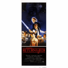 Star Wars Return Of The Jedi Insert Movie Poster 14x36
