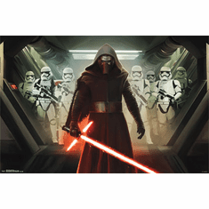 Star Wars The Force Awakens Movie Poster 22x34 Kylo Ren Storm Troopers