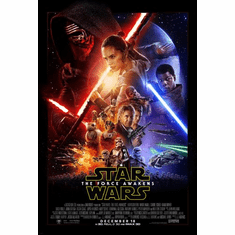 Star Wars The Force Awakens Movie Poster 24in x36in