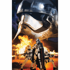 Star Wars The Force Awakens Movie Poster Troopers 22x34