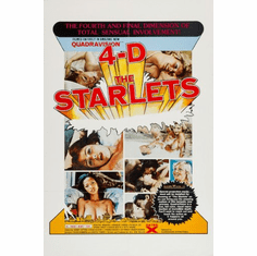 Starlets Movie Poster 24inx36in Poster