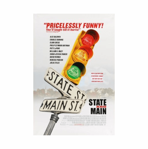 State And Main Movie Poster 24x36 #01