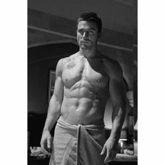 """Stephen Amell Black and White Poster 24""""x36"""""""