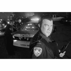 """Steven Seagal Black and White Poster 24""""x36"""""""