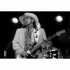 """Stevie Ray Vaughn Black and White Poster 24""""x36"""""""