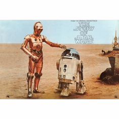 Story Of Star Wars Movie Poster 24inx36in