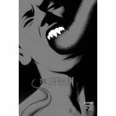 "Strain The Black and White Poster 24""x36"""