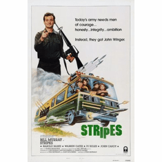 Stripes Movie Poster 24x36 #01