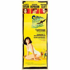 Suddenly Last Summer 14x36 Insert Movie Poster