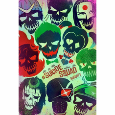 Suicide Squad movie poster art mini poster 11x17