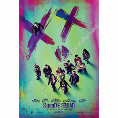 Suicide Squad Poster Movie Poster Art 24x36