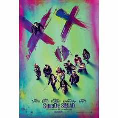 Suicide Squad Suicide Squad Movie Poster Art 11x17