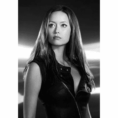 "Summer Glau Black and White Poster 24""x36"""