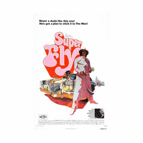 Superfly Movie Poster 24inx36in