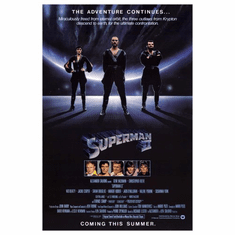 Superman Ii Movie Poster 24inx36in Poster