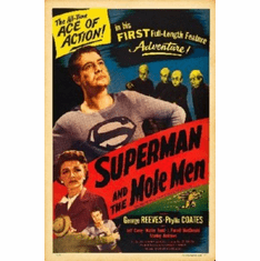 Superman Mole Men Poster 24inx36in