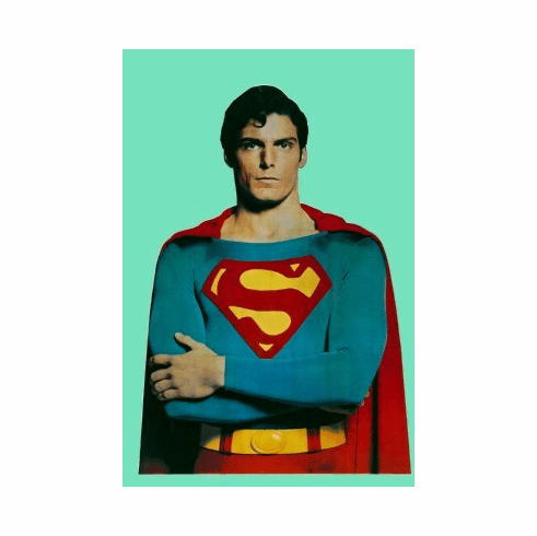 Superman Poster 24x36 #01