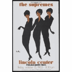Supremes Mini #01 At Lincoln Center 8x10 photo master print