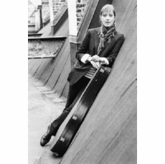 "Suzanne Vega Black and White Poster 24""x36"""