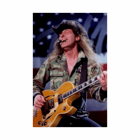 Ted Nugent Poster 24in x36 in