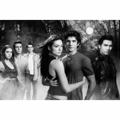 "Teen Wolf Mtv Black and White Poster 24""x36"""