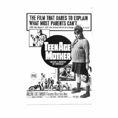 Teenage Mother Movie 11inx17in Mini Poster #01