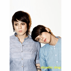 Tegan And Sara Poster Blue Shirts Vt 24inx36in