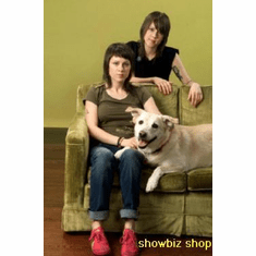 Tegan And Sara Poster Couch And Dog 24inx36in