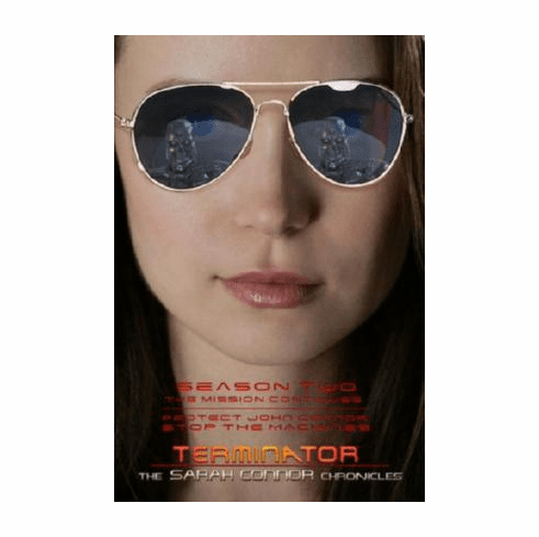 Terminator Sarah Connor Chronicles Movie Poster Summer Glau Sunglasses 24inx36in