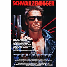Terminator The Movie Poster 24inx36in